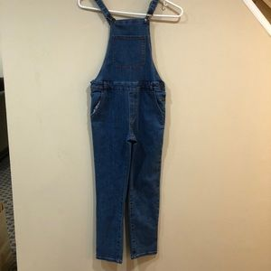 Long overalls girls